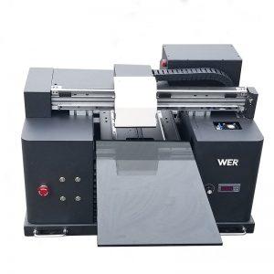 2017 economici A4 tavoletta desktop uv led stampante digitale flatbed WER-E1080UV