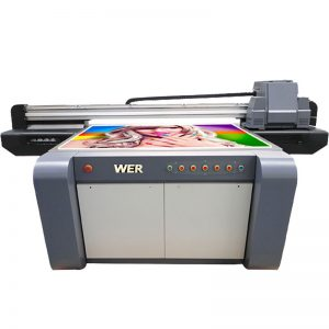 Stampante flatbed UV a effetto 3D, stampante per ceramica, macchina da stampa per piastrelle in Cina WER-EF1310UV