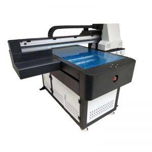 Stampante UV a base piatta UV 6090 Stampante UV a superficie piana con effetto 3D / Stampa a vernice