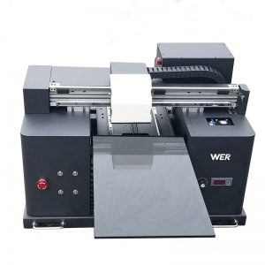 Stampante flatbed UV LY A42 digital case flatbed Stampante flatbed UV stampante flatbed UV con 6 colori WER-E1080UV
