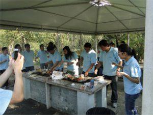 BBQ a Gucun Park, autunno 2014
