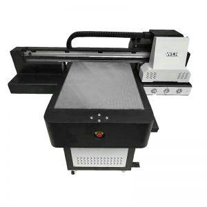 Stampante UV flatbed della cassa del telefono di piccola dimensione di alta qualità WER-ED6090UV