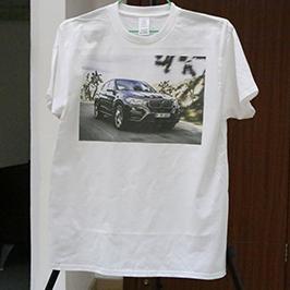 Campione di stampa t-shirt bianca con stampante t-shirt A3 WER-E2000T 2