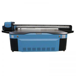 stampante flatbed UV CMYK LCLM a colori bianchi a colori 3D WER-G2513UV
