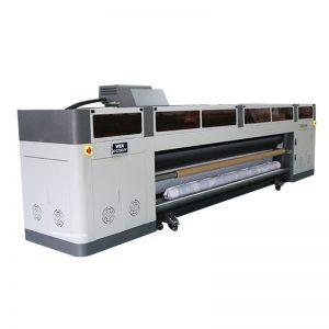Macchina per stampa a getto d'inchiostro digitale ad alta risoluzione ad alta velocità con plotter UV di testina di stampa ricoh gen5 WER-G-3200UV
